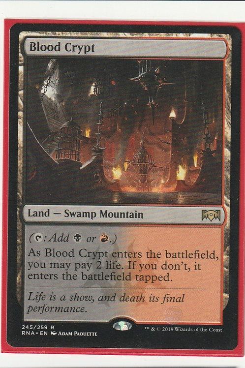 Blood Crypt Ravnica Allegiance /245/259