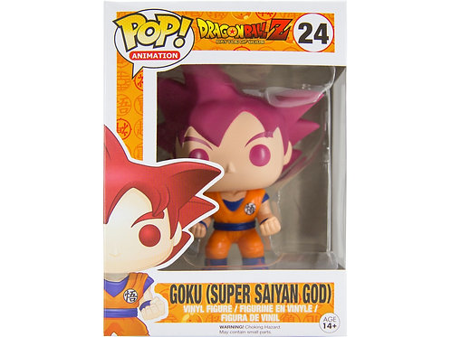 Goku Super Saiyan God Funko Pop! Dragonball Z #24 Vaulted