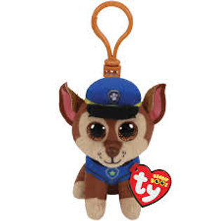 Chase TY Clip Paw Patrol