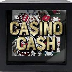 Casino Cash Shadowbox bank