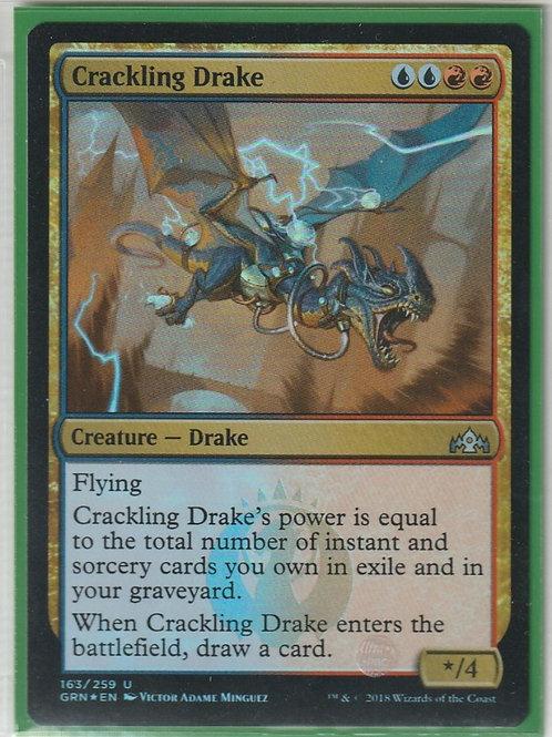 Crackling Drake Foil Guilds of Ravnica #163/259