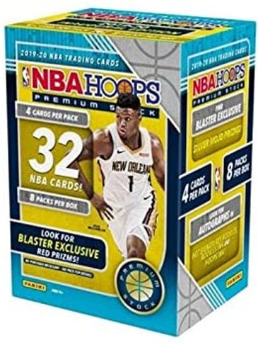 2019-20 Panini NBA Hoops Premium Stock Basketball Blaster