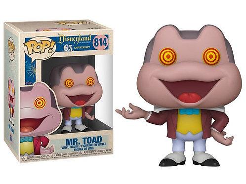 Mr. Toad With spinning eyes Funko Pop! Disneyland 65 Anniversary #814