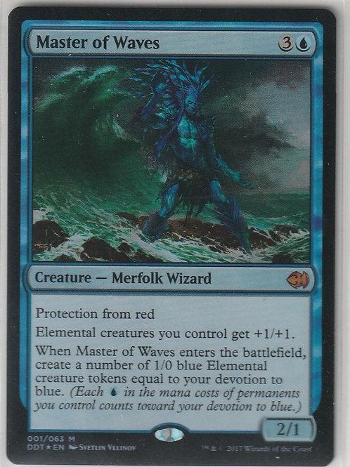 Master of Waves Foil Duel Decks: Merfolk vs. Goblins #1/63
