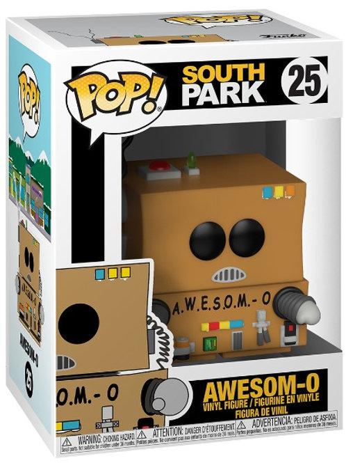 Awesom-O Funko Pop! South Park #25