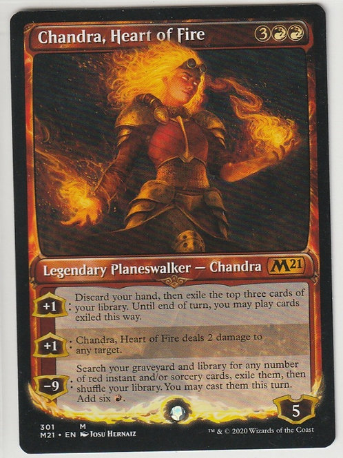 Chandra, Heart of Fire Core Set 2021 #301