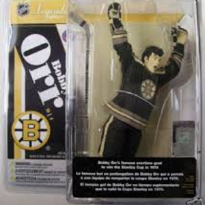 "Bobby Orr McFarlane Toys NHL Legends Series 4  Maillot Noir 6"""