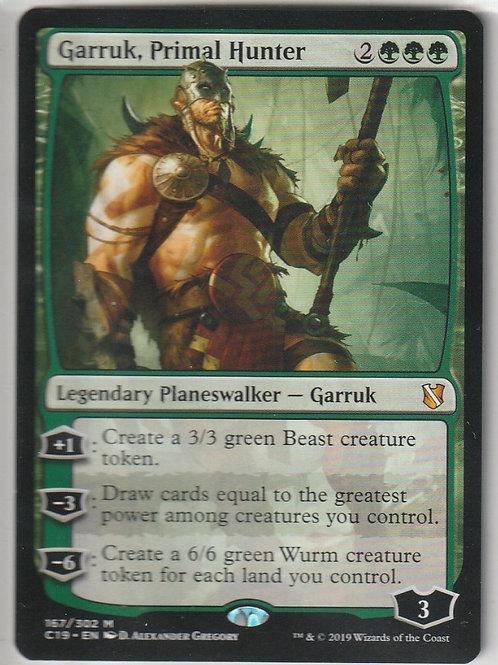 Garruk, Primal Hunter Commander 2019 #167/302