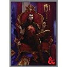 50ct Dungeons Dragons Count Strahd Von Zarovich Standard Deck Protector Sleeves