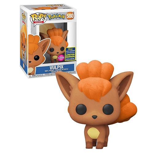 Funko Pop! Pokemon Vulpix #580 Flocked 2020 Summer Convention