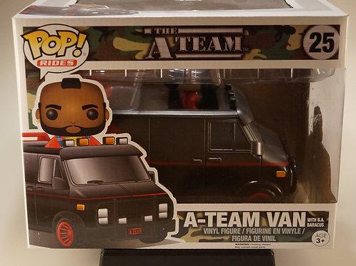 A-Team Van with B.A. Baracus Funko Pop! The A-Team #25 Vaulted