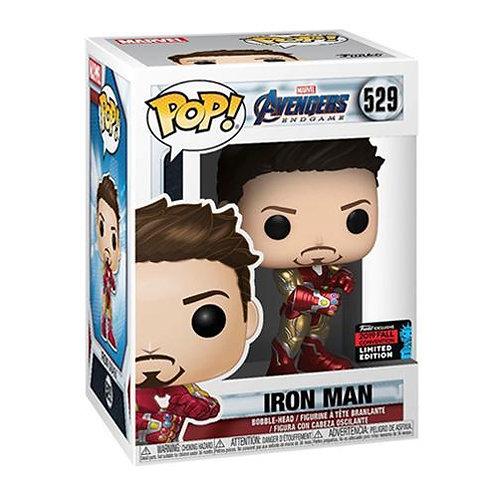Iron Man Funko Pop! Marvel Avengers Endgame #529 2019 Fall Convention