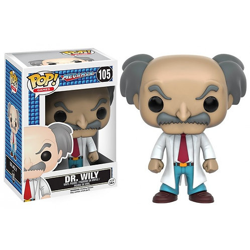 DR. Willy Funko Pop! Megaman #105