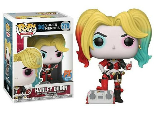 Harley Quinn Funko Pop! DC Super Heroes #279 Px Preview Exclusives