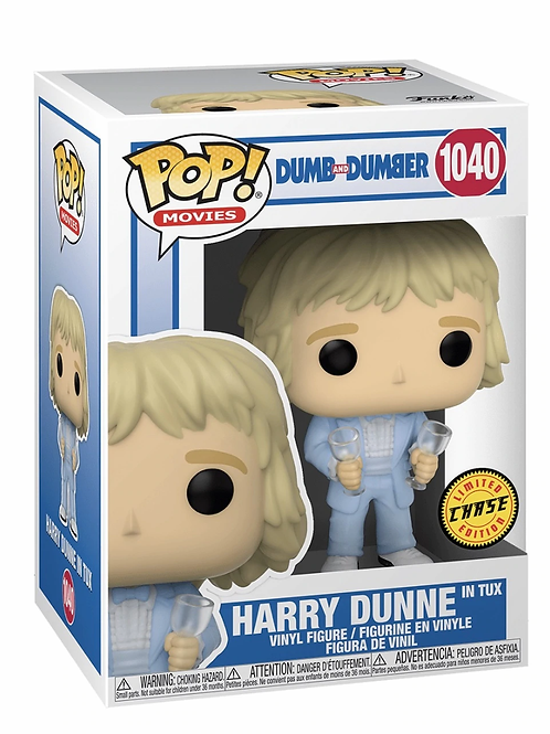 Harry Dunne Funko Pop! Dumb and Dumber #1040 Chase