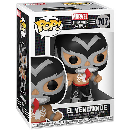 El Venenoide Venom Funko Pop! Marvel Luchadores #707