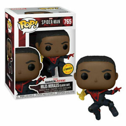 Miles Morales Classic Suit Funko Pop! Spider-Man #765 Chase