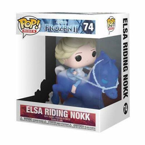 """Elsa Riding Nokk 6"""" Funko Pop! Frozen II #74"""