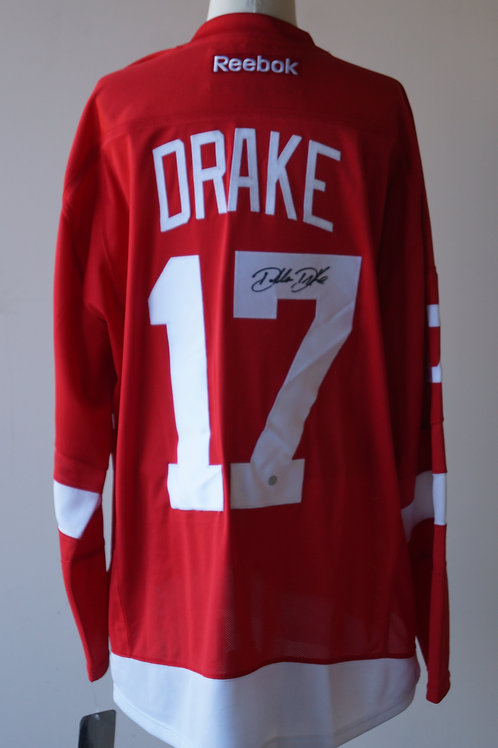 Dallas Drake Detroit Red Wings Autographed Jersey