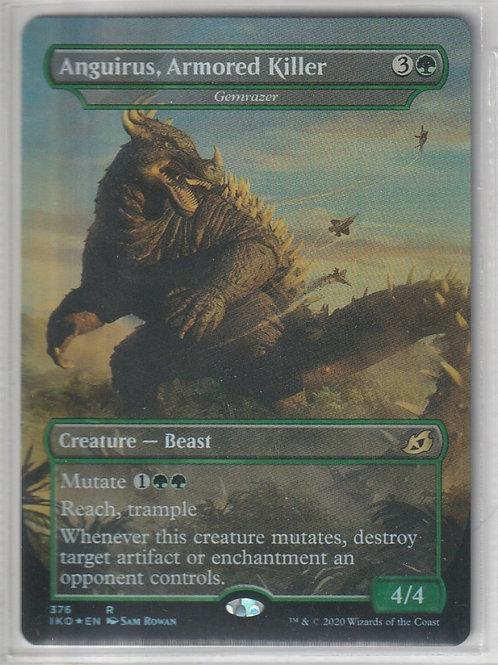 Anguirus, Armored Killer Ikoria Lair of Behemoths  Alternate Art 376