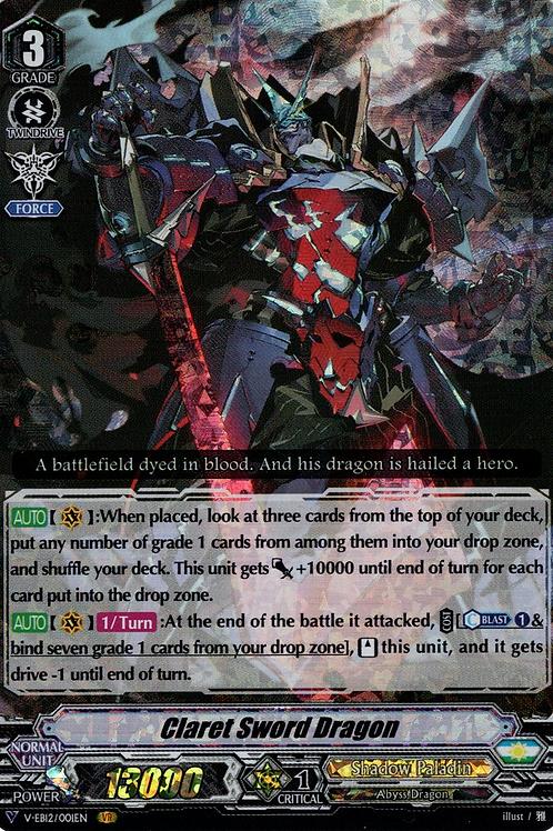 Claret Sword Dragon V-EB12/001EN