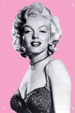 Marylin Monroe Pink Tin Sign