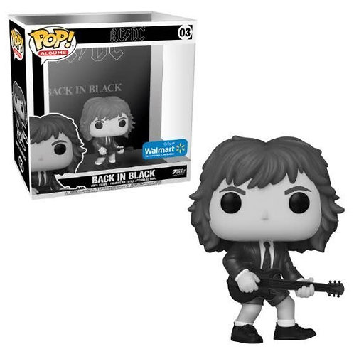 Back in Black Funko Pop! AC/DC Walmart Exclusive #03