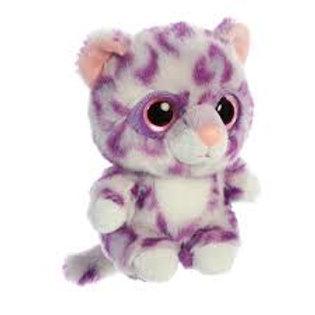 "Alisha Snow Leopard Aurora Leopard YooHoo & Friends 5"""