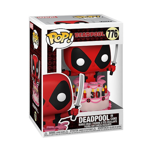 Deadpool in Cake Funko Pop! Deadpool #776