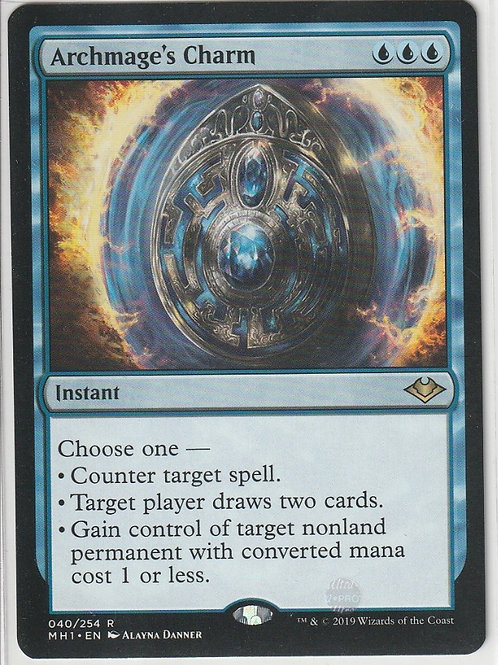 Archmage's Charm Modern Horizons #40/254