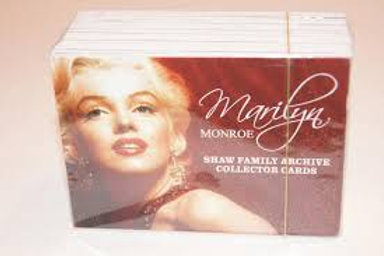 Marilyn Monroe Collector Cards Complete Set