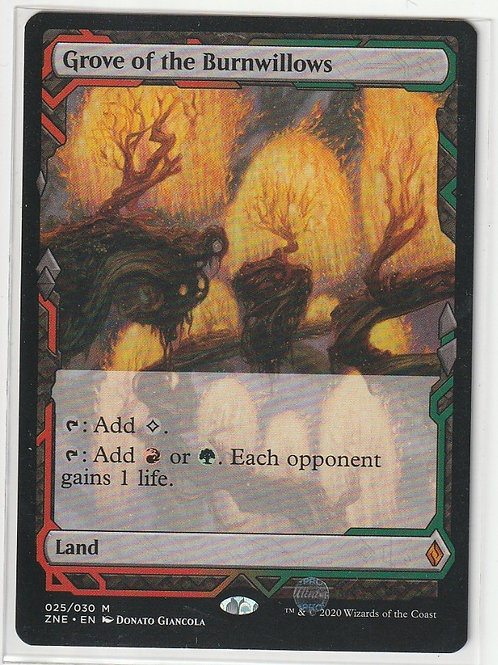 Grove of the Burnwillows Zendikar Rising Expeditions #25/30