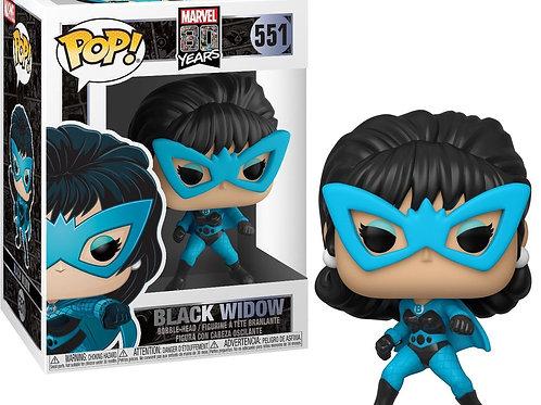 Black Widow Funko Pop! Marvel 80 Years 1st Apperance #551