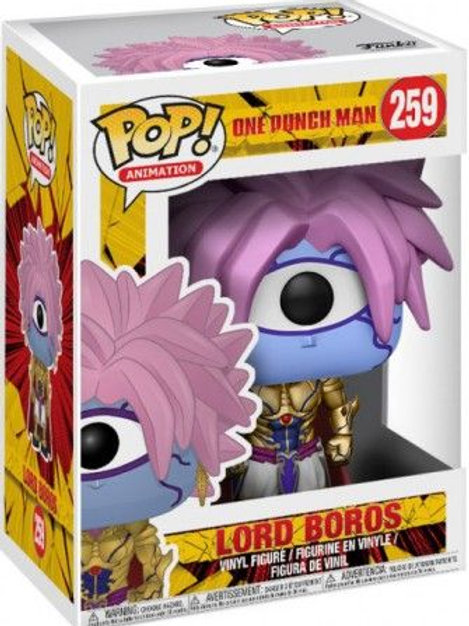 Lord Boros Funko Pop! One Punch Man #259 Vaulted