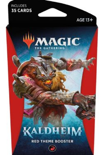 Kaldheim Red Theme Booster