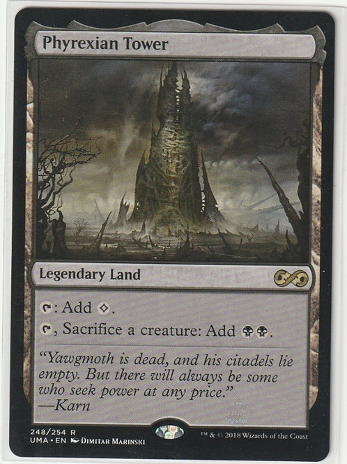 Phyrexian Tower Ultimate Masters #248/254