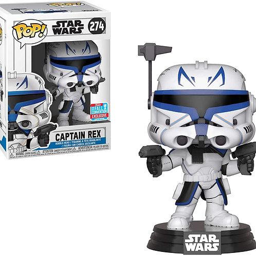 Captain Rex Funko Pop! Star Wars #274 2018 Fall Convention