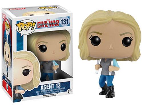 Agent 13 Funko Pop! Civil War #131