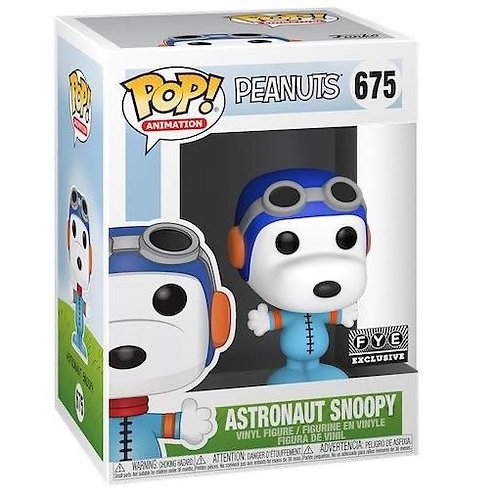 Astronaut Snoopy Funko Pop! Peanuts #675 FYE Exclusive