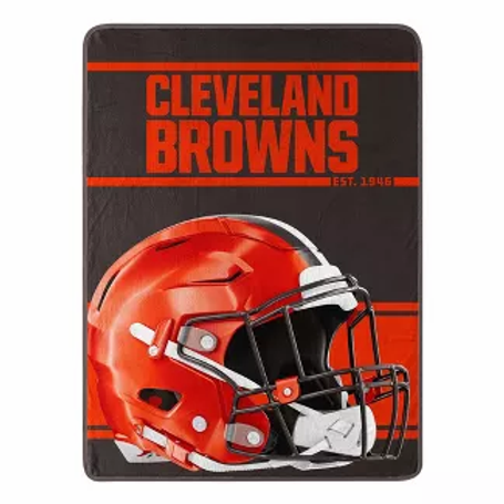 Cleveland Browns Super Plush Throw Blanket 46''x60''