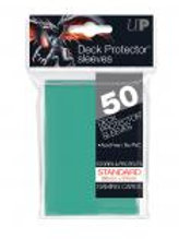 Aqua 50ct Standard Deck Protector Sleeves