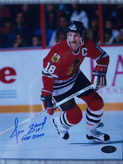 Denis Savard Chicago Blackhawks Autographed Photo