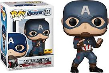 Captain America Funko Pop! Avengers #464 Hot Topic Exclusive