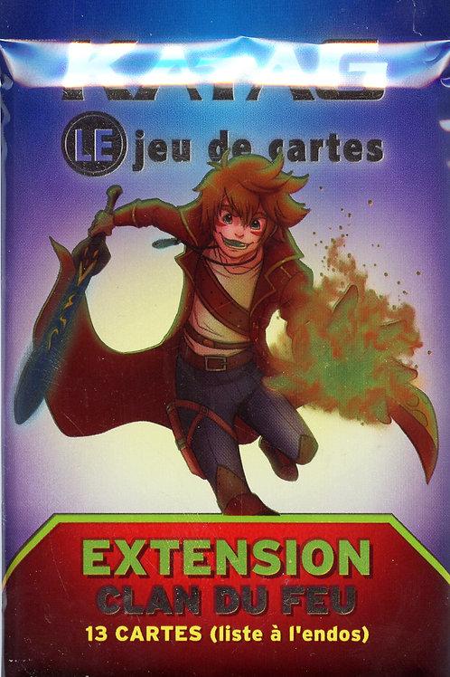 Katag Clan du Feu Paquet Extension