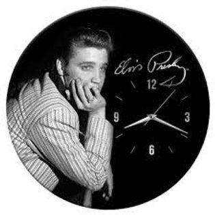 """Elvis Presley Horloge Murale 13.5"""""""