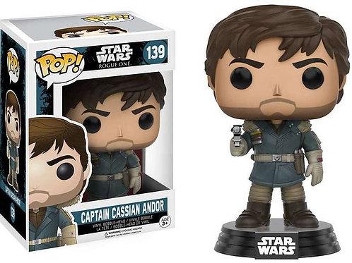 Captain Cassian Andor Funko Pop! Star Wars #139