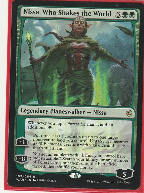 Nissa, Who Shakes the World War of the Spark #169/264