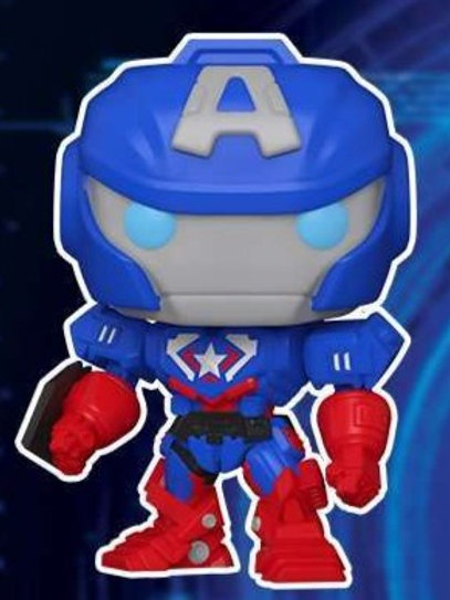 Captain America Funko Pop! Marvel Mech Pre-Order *Photo à Venir*