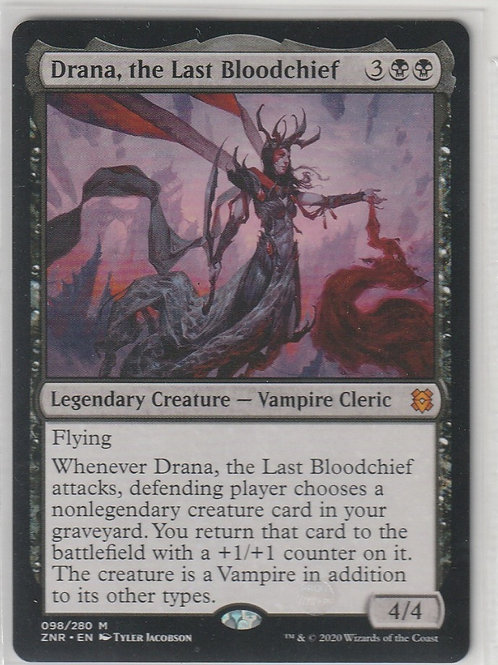 Drana, the Last Bloodchief Zendikar Rising #98/280