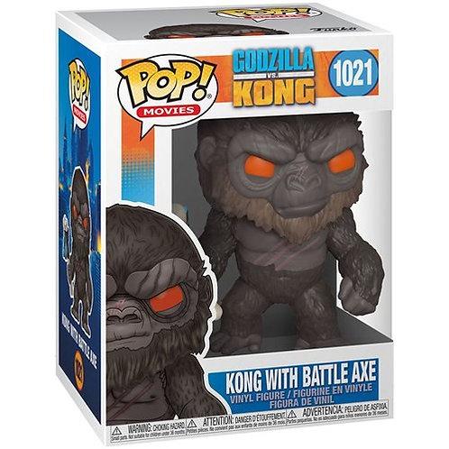 Kong w/Battle Axe Funko Pop! Godzilla Vs Kong #1021
